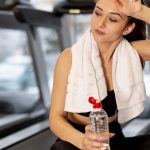 Baixo rendimento físico em função da desidratação
